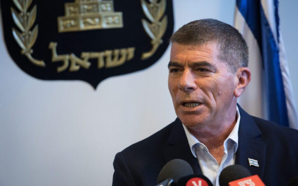 גבי אשכנזי בכנסת, 9 בספטמבר 2019 (צילום: הדס פרוש, פלאש 90)