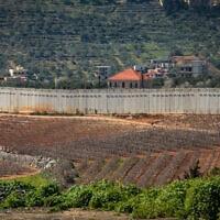 גבול ישראל לבנון מהצד הישראלי (צילום: Anat Hermony/FLASH90)