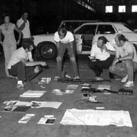 חוקרים עובדים כדי לפתור את תיק החטיפה של ג'ק טייך (צילום: באדיבות משטרת מחוז נסאו)