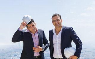 עידו (משמאל) וצחי חג׳ג׳ (צילום: קבוצת חג׳ג׳)