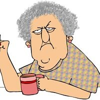 אילוסטרציה: אשה מבוגרת