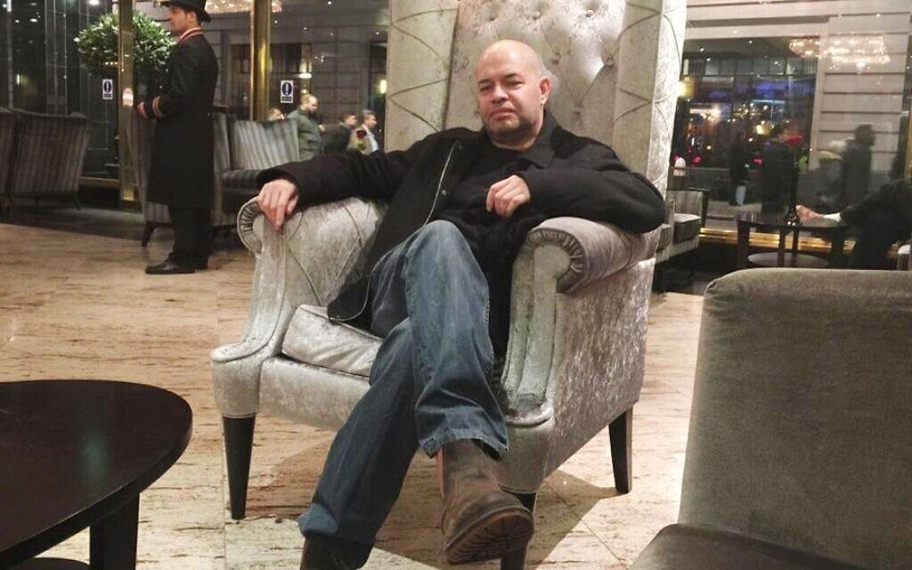 יוסי הרצוג במלון בלונדון, 2015 (צילום: Courtesy)