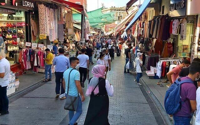 איסטנבול, אוגוסט 2020 (צילום: אורלי לוק)