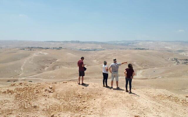 המיקום המתוכנן להקמת משרפה כפר אדומים (צילום: ועד הפעולה לעצירת המשרפה בכפר אדומים)