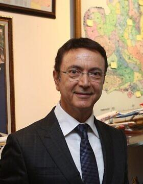 חמדי גובנט, מנהל שדה התעופה דלאמן בטורקיה (צילום: אורלי לוק)