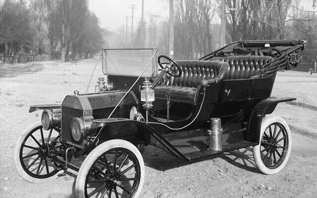 פורד מודל T, ויקיפדיה, דרך: Harry Shipler