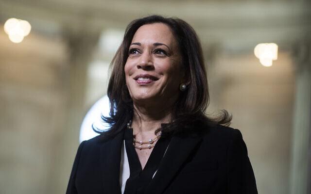 קמלה האריס, המועמדת הדמוקרטית לסגנות הנשיא (צילום: טום וויליאמס/CQ Roll Call via Getty Images)