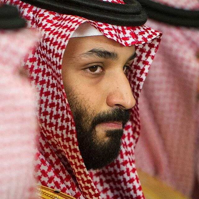 יורש העצר הסעודי מוחמד בן סלמאן (צילום: AP Photo/Cliff Owen)