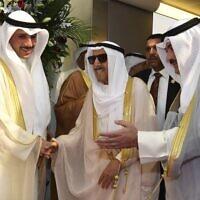 Kuwait Emir (צילום: KUNA via AP)