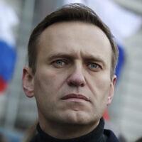 אלכסיי נבלני (צילום: AP Photo/Pavel Golovkin)