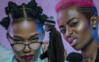 עידן הקורונה ביוהנסבורג, דרום אפריקה, יוני 2020 (צילום: AP Photo/Themba Hadebe/File)