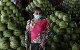 עידן הקורונה בפיליפינים (צילום: AP Photo/Aaron Favila)