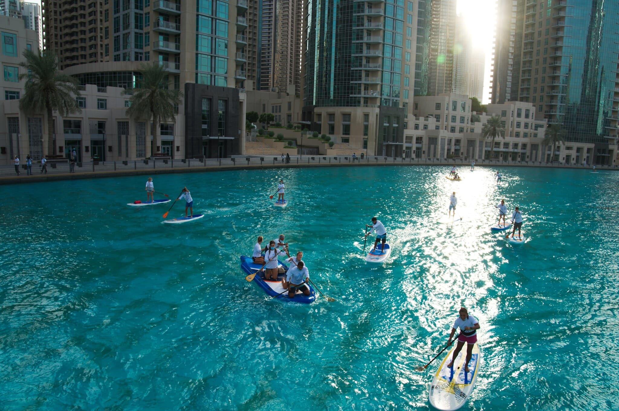 ספורט ימי בדובאי, 28 באוגוסט 2020 (צילום: P Photo/Jon Gambrell)