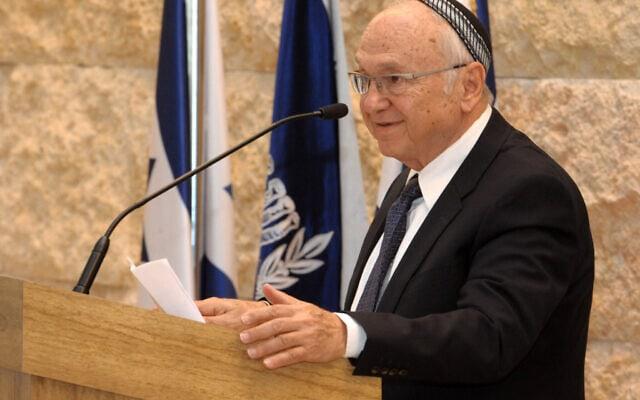 """יעקב נאמן בעת שכיהן כשר המשפטים, ב-2012 (צילום: מרק ניימן, לע""""מ)"""