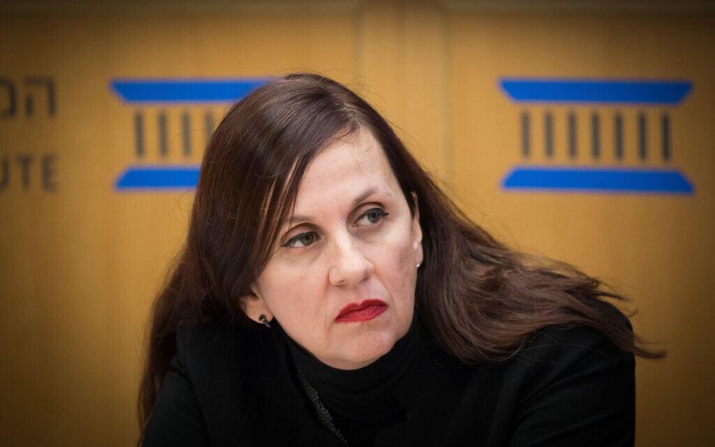 דינה זילבר (צילום: Yonatan Sindel/Flash90)