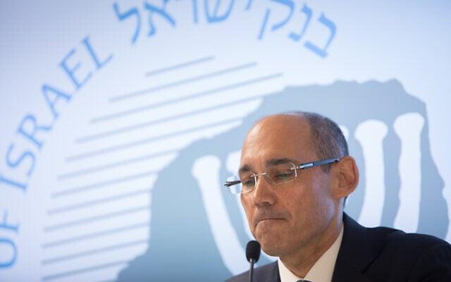 נגיד בנק ישראל אמיר ירון (צילום: Revkin Fenton/Flash90)