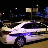ניידת של משטרת התנועה, 8 ביוני 2020; לתצלום אין קשר לדיווח (צילום: אוליבייה פיטוסי, פלאש 90)