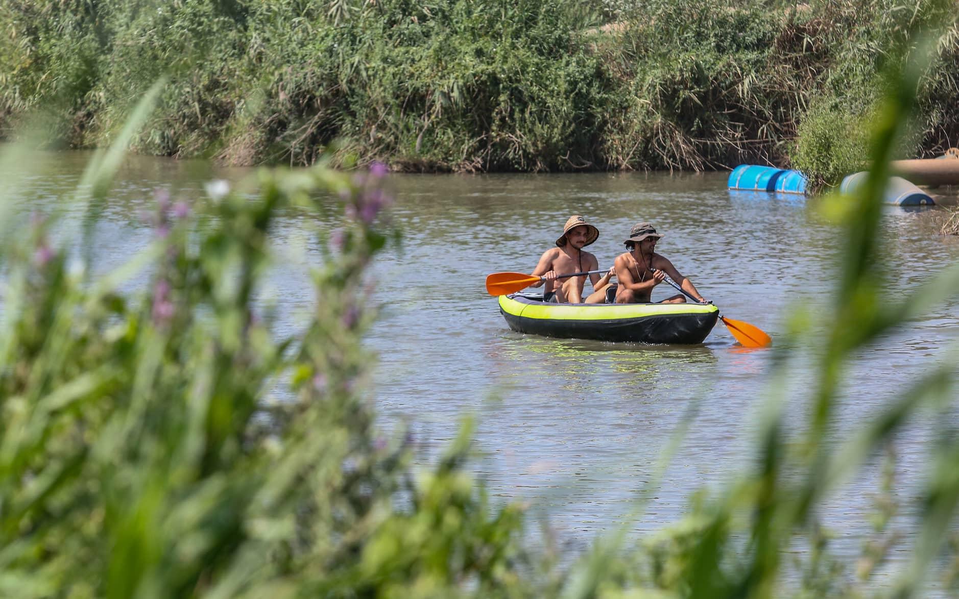 נהר הירדן. יולי 2020 (צילום: David Cohen/Flash90)