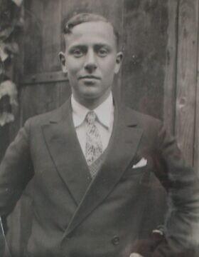 היינץ-אריך טוכמן, שנרצח בטבח בפוסה ארדיאטינה ב-1944 (צילום: באדיבות ג'רמי טוקמן)