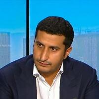 מחמד חאלד אל-יחיא (צילום: צילום מסך, France24)