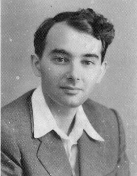 ריינהרט פריזר בימיו כסטודנט באוניברסיטת קיימברידג' באנגליה (צילום: Courtesy))