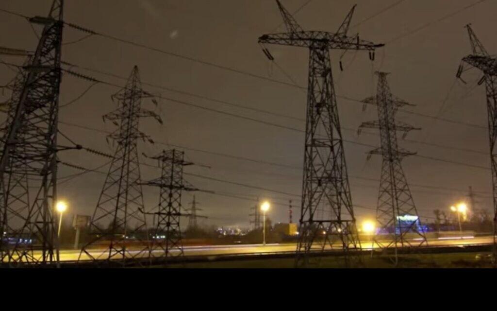 צילום מסך מתוך סרטון תדמית של תחנת כוח פרטית בישראל