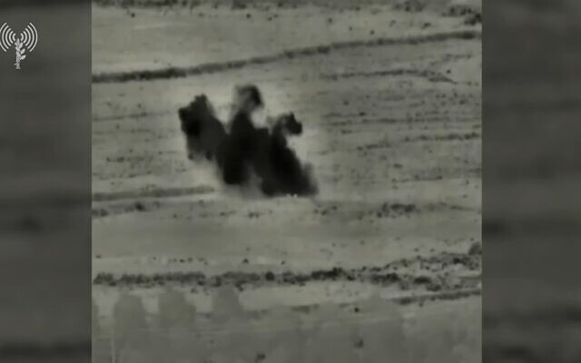 תיעוד סיכול פיגוע המטען בגבול סוריה, צילום מסך מסרטון של וויינט