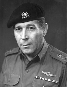 אלוף ישראל טל (טליק) (צילום: ארכיון משרד הביטחון)