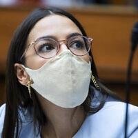 אלכסנדרה אוקסיו קורטז (צילום: Tom Williams/Pool via AP)