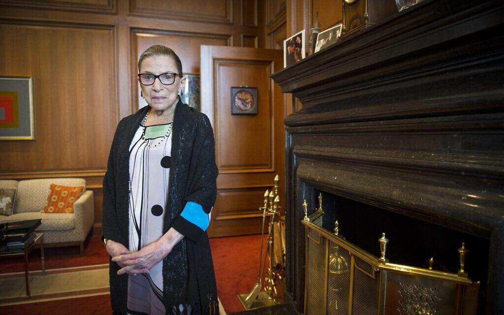רות ביידר גינזבורג (צילום: AP Photo/Cliff Owen)
