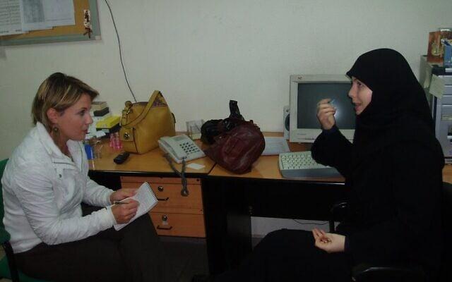 ראיון עם אלין בריינט, המגישה של ערוץ חיזבאללה בשפה הצרפתית (צילום: באדיבות קסניה סבטלובה)