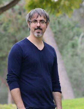 """ד""""ר ארז גרטי, מכון דוידסון (צילום: איתי בלסון, מכון ויצמן למדע)"""