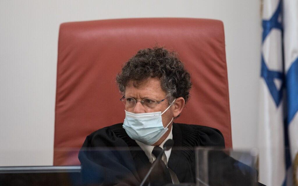 שופט בית המשפט העליון יצחק עמית (צילום: יונתן זינדל/פלאש90)