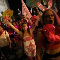 הפגנה נגד נתניהו בירושלים, 12.9.2020 (צילום: אוליבייר פיטוסי)