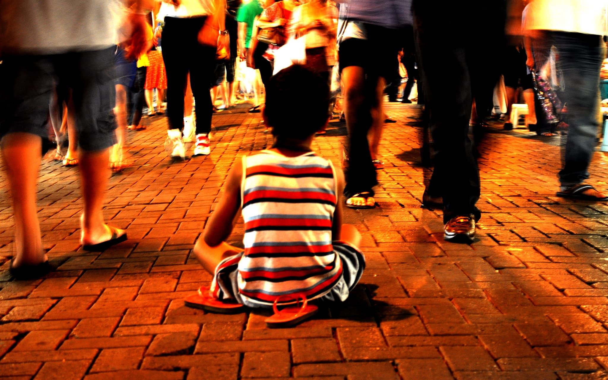 ילדים קבצנים. אילוסטרציה (צילום: Lost-Marcus/iStock)