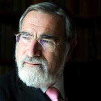 הרב ג'ונתן זקס (צילום: באדיבותו)