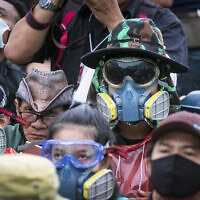 APTOPIX Thailand Protests (צילום: AP Photo/Wason Wanichakorn)