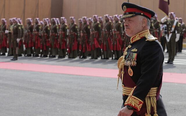 עבדאללה מלך ירדן, נובמבר 2019 (צילום: AP Photo/Raad Adayleh)
