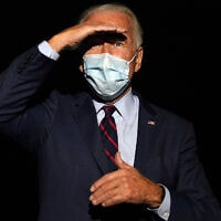 ג'ו ביידן, אוקטובר 2020 (צילום: AP Photo/Carolyn Kaster)