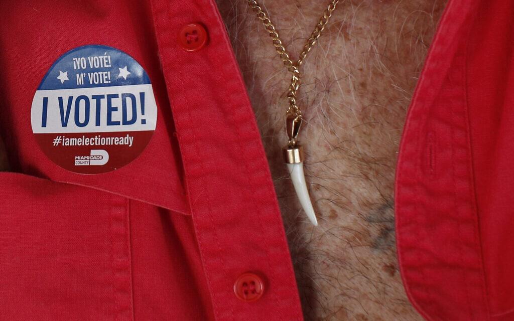 הבחירות לארצות הברית 2020 (צילום: AP Photo/Rebecca Blackwell)