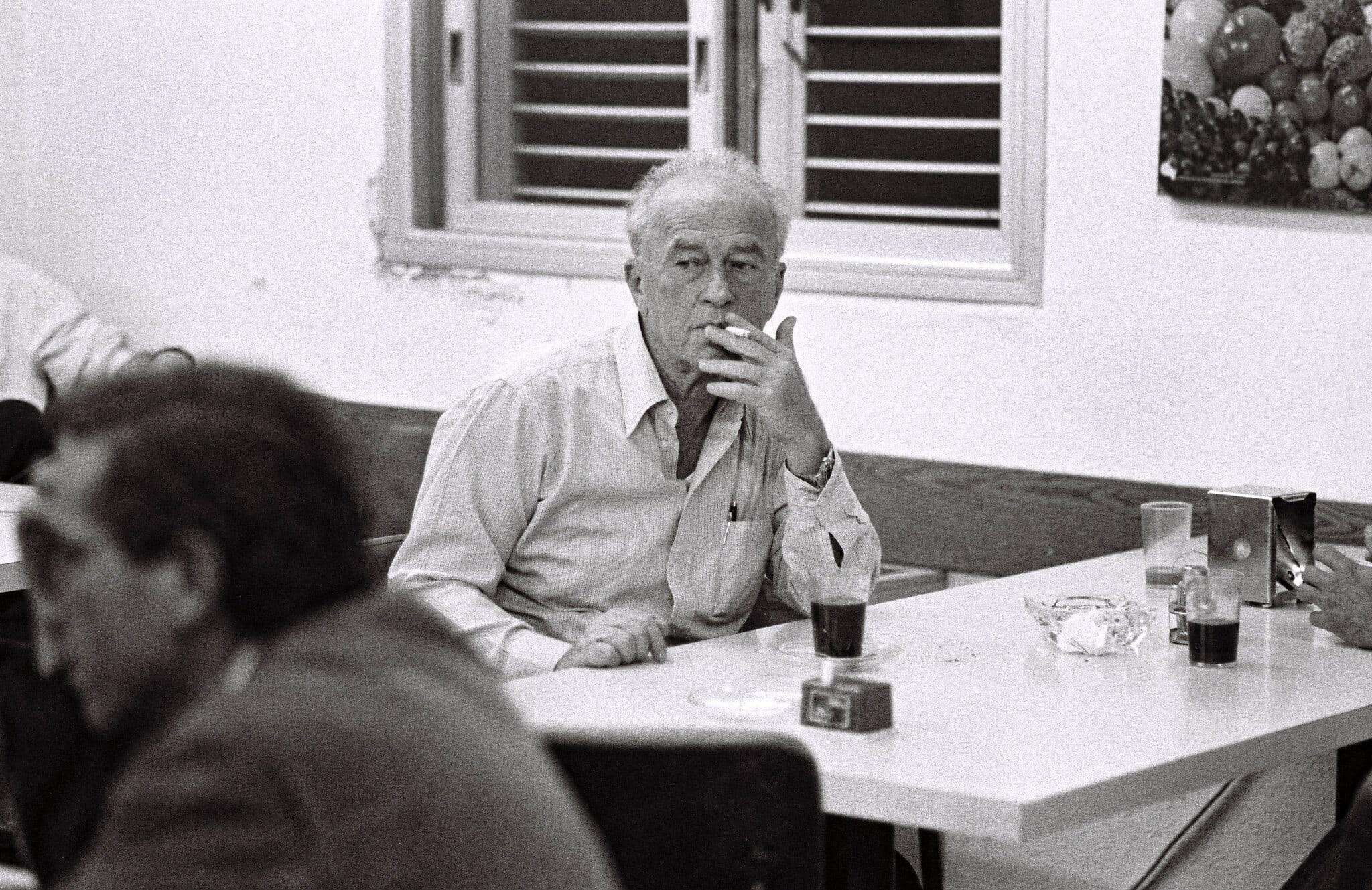 יצחק רבין, 1993 (צילום: משה שי/פלאש90)