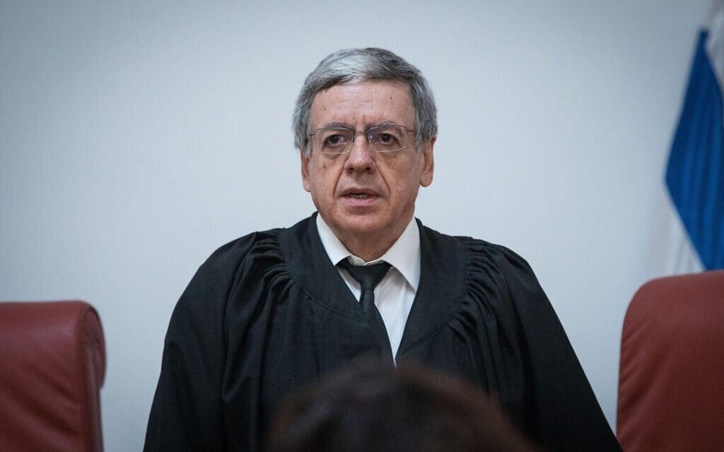שופט בית המשפט העליון מני מזוז (צילום: יונתן זינדל/פלאש90)