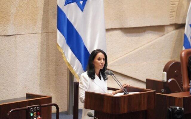 ח״כ הילה וזאן (צילום: דוברות הכנסת – שמוליק גרוסמן)