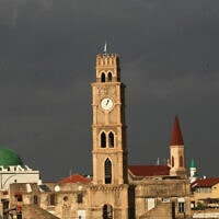 מגדל שעון בעכו (צילום: דורון הורוביץ, פלאש 90)