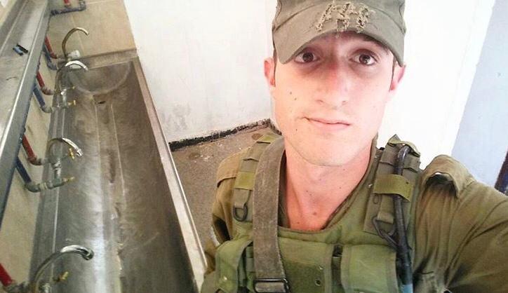 סתיו שומר במהלך שירותו הצבאי (צילום: באדיבות סתיו שומר)