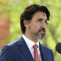 ראש ממשלת קנדה ג'סטין טרודו (צילום: Justin Tang/The Canadian Press via AP)