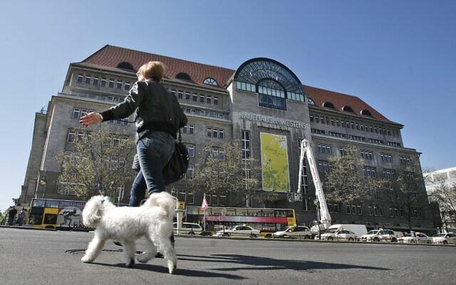 חנות הכלבו קה-דה-וה בברלין (צילום: AP Photo/Maya Hitij)