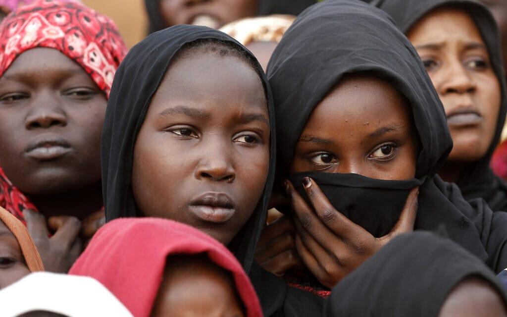 אילוסטרציה, נשים סודאניות, 2019. הדרך לשוויון עוד ארוכה (צילום: AP Photo/Hussein Malla)