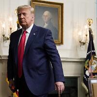 נשיא ארצות הברית דונלד טראמפ בבית הלבן, 26 בנובמבר 2020 (צילום: Patrick Semansky, AP)
