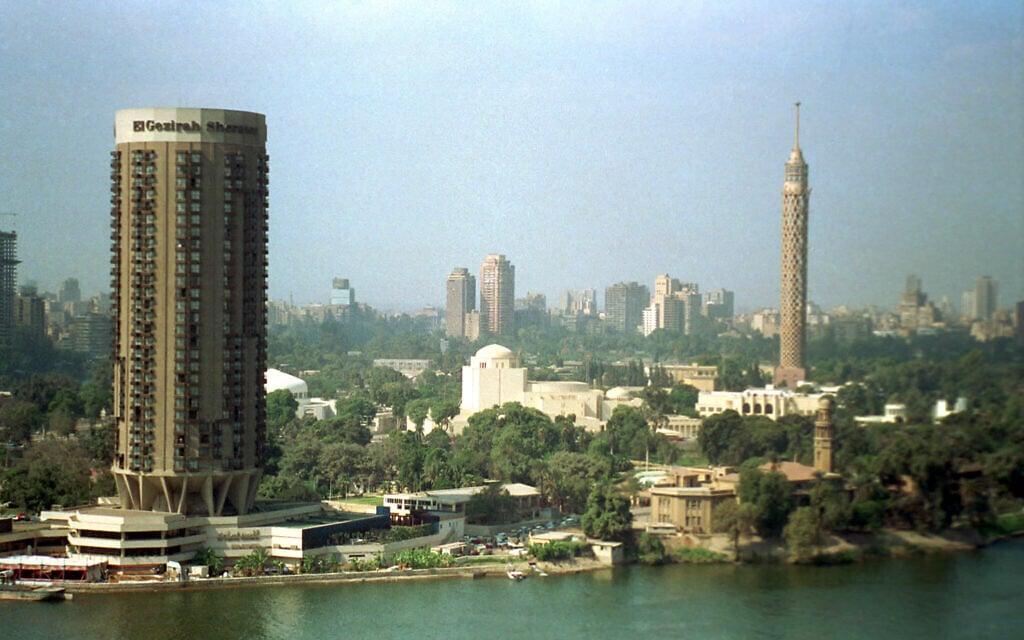מלון שרתון קהיר, 1988 (צילום: Makram Gad el-Karim, AP)